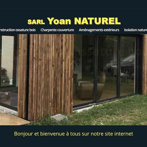yoan naturel charpente ossature bois